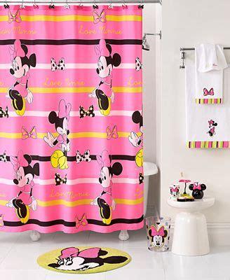 disney bathroom accessories disney bath neon minnie collection bathroom accessories bed bath macy s