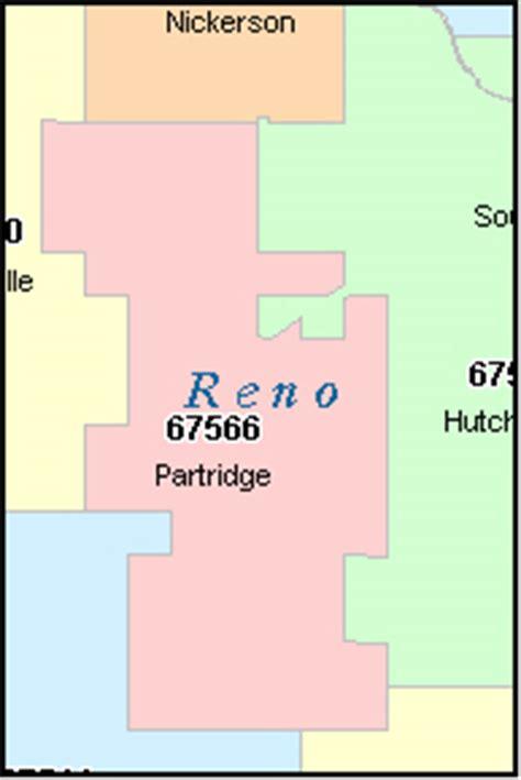 zip code map reno reno county kansas digital zip code map