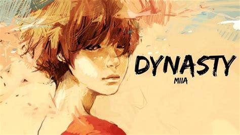 dynasty lyrics miia youtube