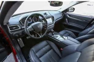 Maserati Interior 2017 Maserati Ghibli Specs Redesign Release Date Price