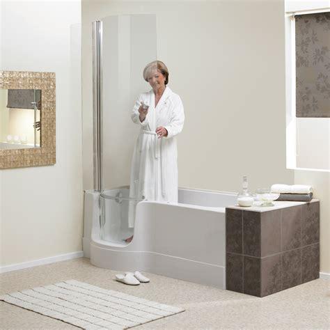 easy access shower bath renaissance baths valens easy access bath