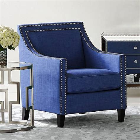 navy blue armchair flynn navy blue upholstered armchair 4w442 ls plus