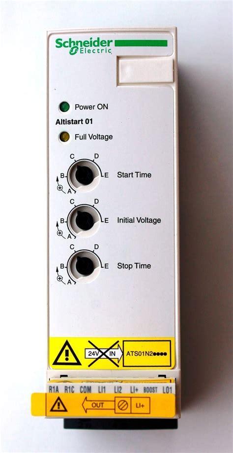 Schneider Ats01n212qn устройство плавного пуска schneider electric altistart 01