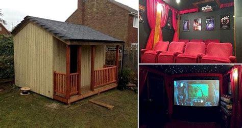 amazing diy home theater  disguised   regular