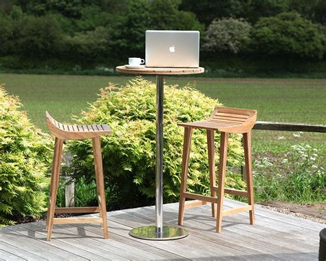Patio Table Encore Club Menton Garden Barstools Bau Outdoors