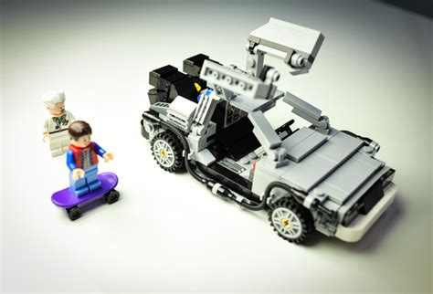 delorean flux capacitor kit lego back to the future delorean on an awesome of kit tech news digital