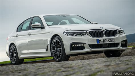 driven g30 bmw 5 series reviewed in lisbon portugal