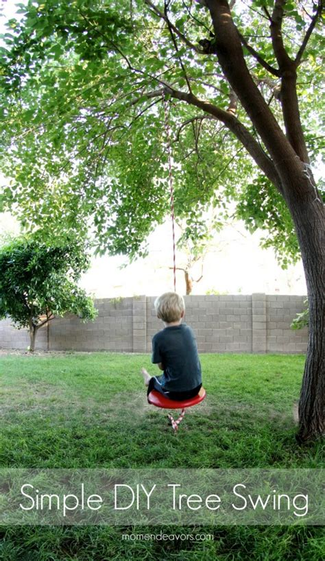 easy swing simple diy tree swing