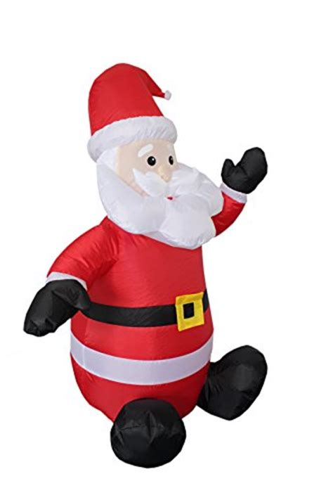 4 foot santas 4 foot santa claus up yard decoration artificial tree shop