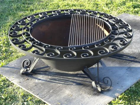 feuerschale mit grill rand interessante varianten f 252 r feuerschale mit grill