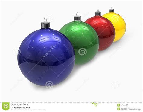 colored christmas balls stock image image 16144461