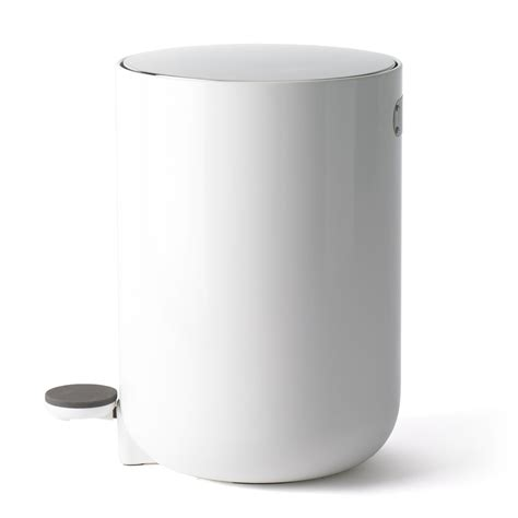bathroom bin leo bella menu bath pedal bin white