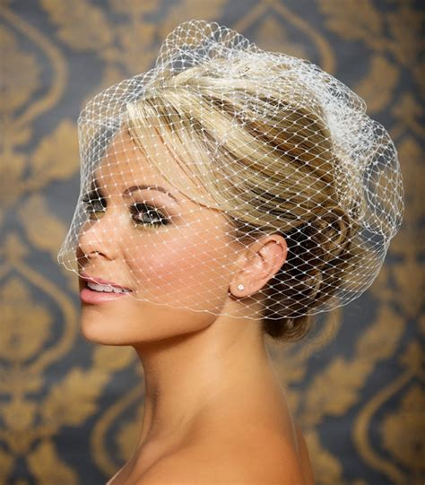 Vintage Wedding Updos With Veil by Wedding Hairstyles With Birdcage Veil Hairstyle For