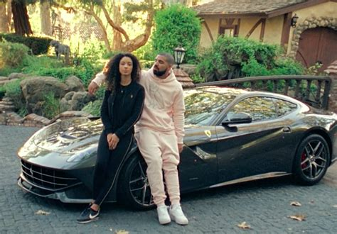 drake ferrari watch drake drive around calabasas in a ferrari in a new