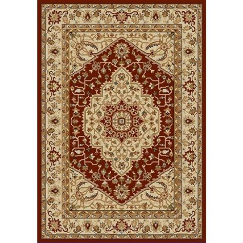 Safavieh Austin Red Creme 4 Ft X 5 Ft 7 In Area Rug 4 Foot Rug