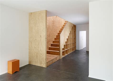Plywood Stairs Design Plywood Built In Furniture By Big