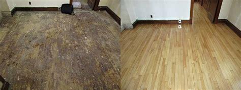 How To Protect Hardwood Floors wood floor refinishing sand amp stain raven hardwood