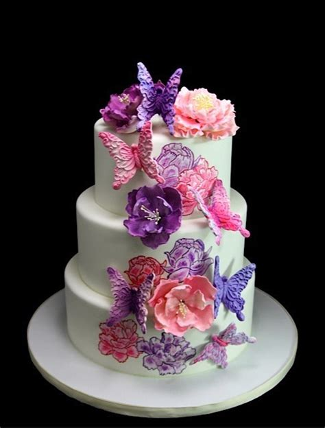 Butterfly Bakeshop, Wedding Cake, New York   New York