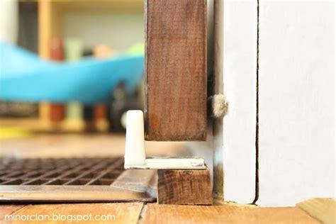 how do i stop a door from swinging open diy sliding door the lettered cottage basement ideas