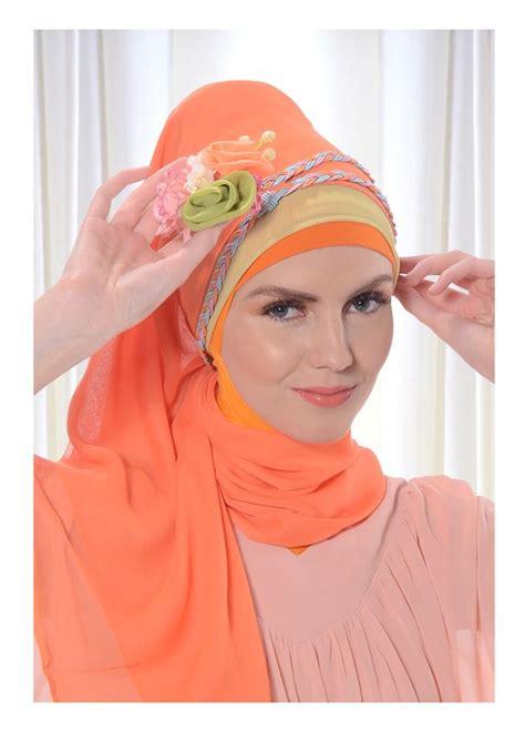 tutorial kerudung pashmina tisu jilbab pashmina solusi cantik dan modis dalam berhijab