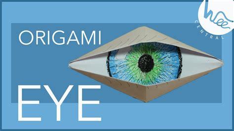 Origami Eye - paper origami eye