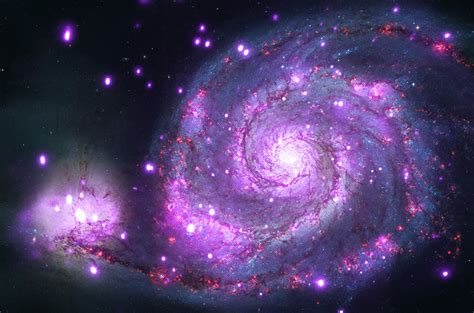 whirlpool galaxy neutron star hubble pics about space