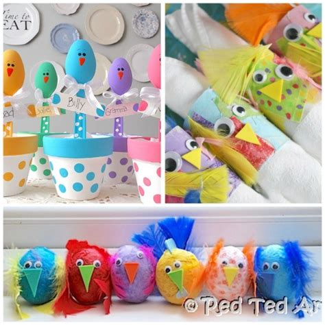 craft to make 12 easy adorable easter crafts happy hooligans