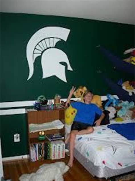 michigan state rooms spartan michigan state bedroom idea white house green