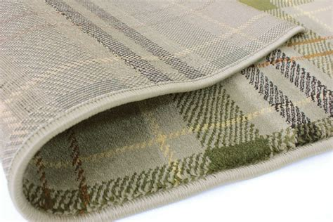 C621beigeblackblueblack tartan wearing quality checkered rug soft touch green beige black blue ebay