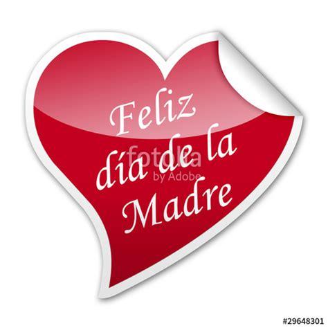imagenes feliz dia corazon quot pegatina corazon feliz dia de la madre con reborde quot fotos