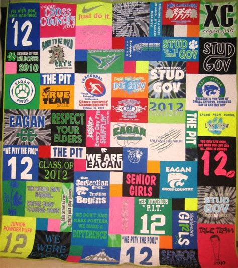 Handmade T Shirt Quilts - custom made t shirt quilt