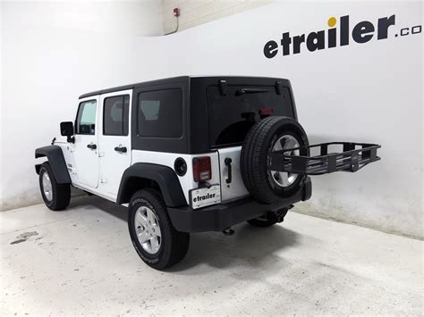 wide jeep jeep wrangler unlimited surco spare tire mounted cargo