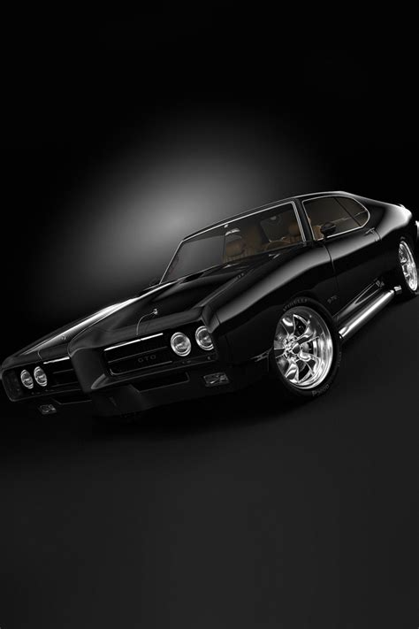 cars pontiac gto  muscle car ipad iphone hd