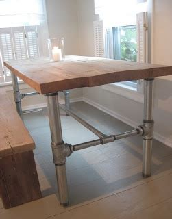 Kitchen Table Divorce Diy Industrial Dining Room Table Do It Yourself