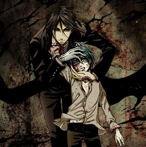 Kaos Anime Seal Black kuroshitsuji black butler toboso yana image 626495 zerochan anime image board