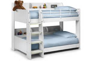 Julian Bowen Bunk Bed Julian Bowen Domino Childrens Maple White Or All White Bunk Bed With Or Without Premier