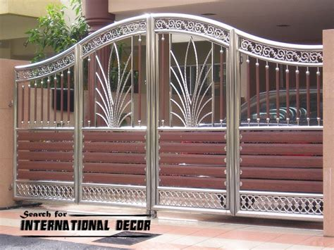 choice of gate designs for private house and garage garage gate design home furniture design