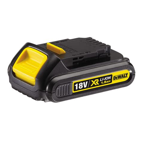 dewalt 18v lithium ion dewalt dcb181 18v xr li ion battery 1 5ah dcb 181