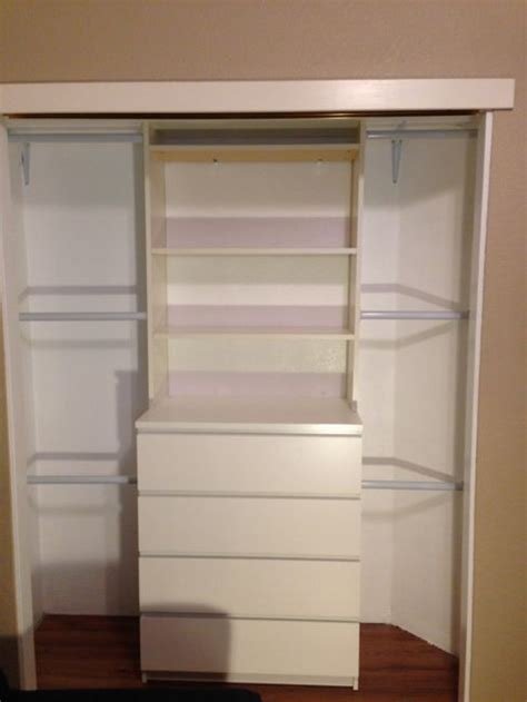 ikea hack closet this would be perfect for the kids closet although i just