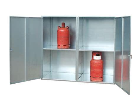 Gas Bottle Storage Cabinet 20 X 11kg Solid Gas Cylinder Cabinet
