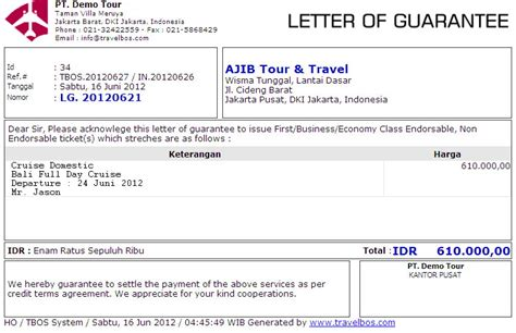 Letter Of Credit Bank Mandiri Contoh Invoice Picture Car Interior Design