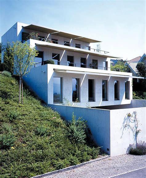 Haus Bauen Am Hang 4560 by Treppenartiges Haus Am Hang Sch 214 Ner Wohnen
