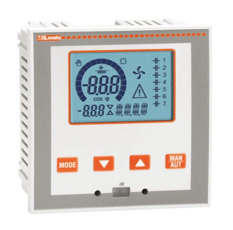 Power Factor Controller 380v automatic power factor controllers dcrl lovato electric