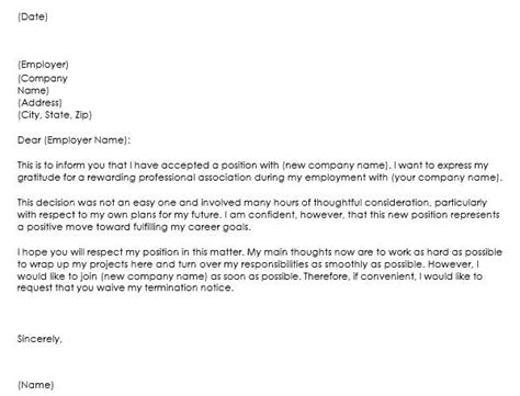 Business Resignation Letter Template 10 10 letter of resignation sles for different situations