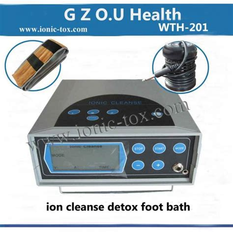 Ion Detox Machine Benefits by Foot Bath Detox Machine With Far Infrared Belt For
