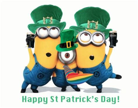 st s day minion pics happy st s day minions minions stpatricksday minion land