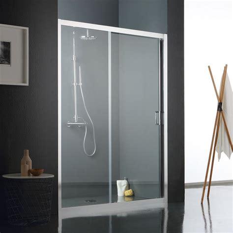 porte in vetro per doccia porta scorrevole per doccia nicchia di cristallo trasparente