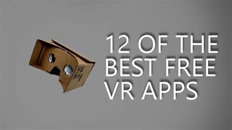 12 Of The Best Apps - 12 of the best free vr apps doovi