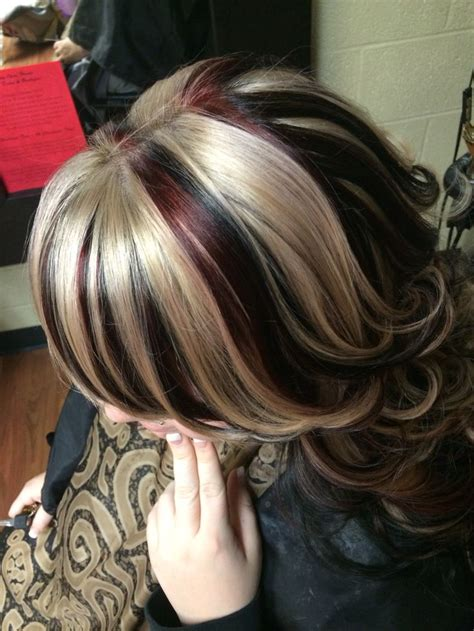 hairstyles with thick highlights 1000 ideas about chunky highlights on pinterest hair