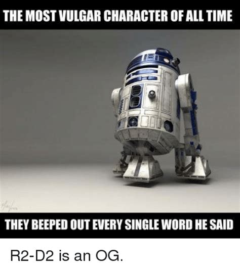 Vulgar Memes - the most vulgar character of all time they beepedout every